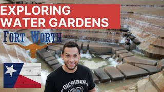 Water Gardens In The Middle Of Fort Worth, TX