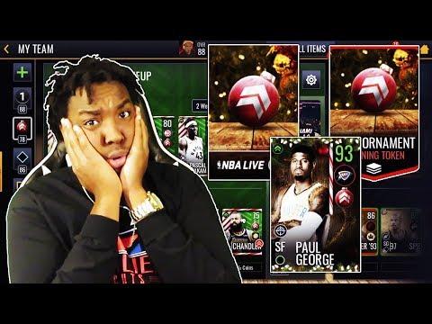 MASSIVE NBA LIVE MOBILE 19 NORTH POLE BUNDLE OPENING!!!