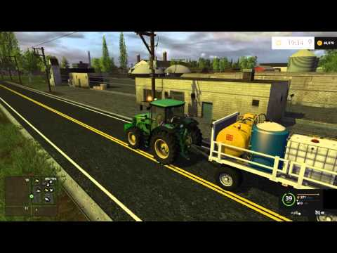 Hello America map states v8 Farming Simulator 2015 #06