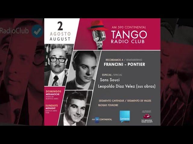TANGO RADIO CLUB / Programa N* 12.