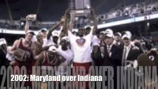 All NCAA Basketball champions since 1991