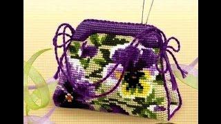 Вышитые сумки крестиком. Красивые женские сумки, вышитые крестиком(Очень красивые вышитые сумки крестиком. Красивые женские сумки, вышитые крестиком. Такие сумки очень женст..., 2015-01-22T22:17:56.000Z)
