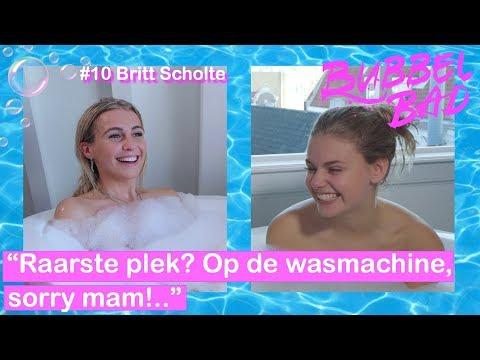 BRITT SCHOLTE over haar NIEUWE BOYFRIEND!! | Bubble Bad #10