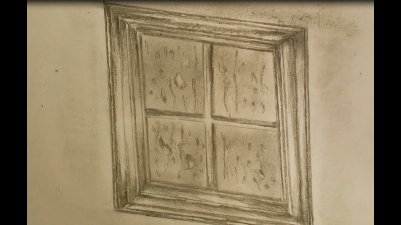 How To Draw Window Youtube