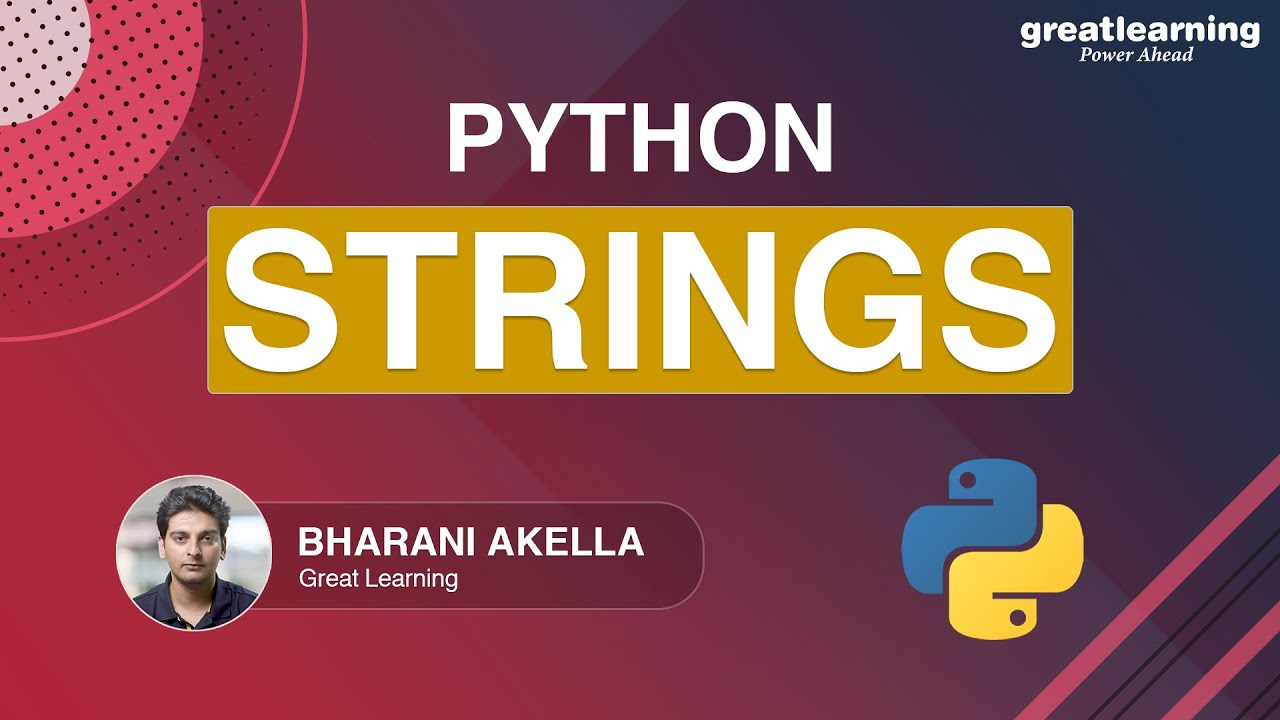 Python Strings For Beginners | How To Use Strings In Python