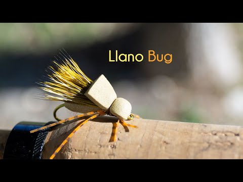Llano Bug - The Terrestrial Fly Of South Texas! - McFly Angler Dry Fly Tying Tutorials
