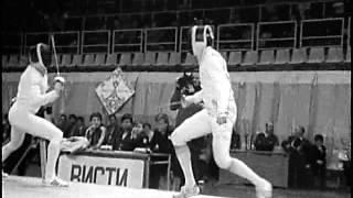 Техника советских и зарубежных спортсменов