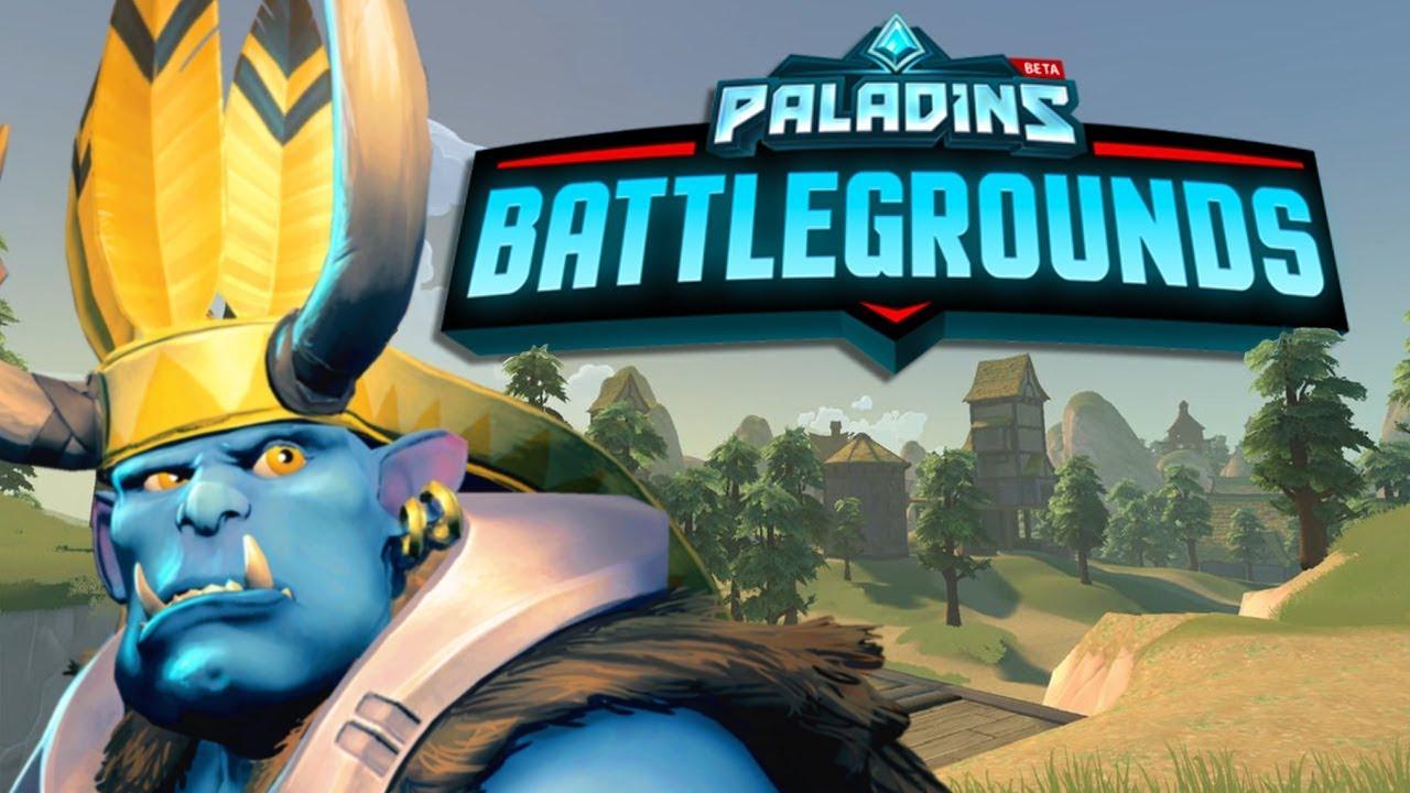 New Free Battle Royale Game Paladins Battlegrounds