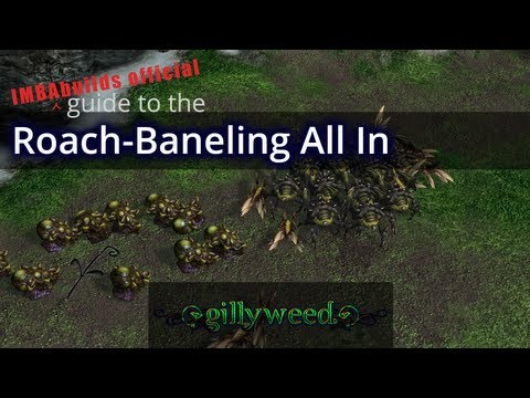 IMBAbuilds Audio Walkthrough - ZvT Roach / Baneling All-In