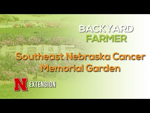 Southeast Nebraska Cancer Memorial Garden