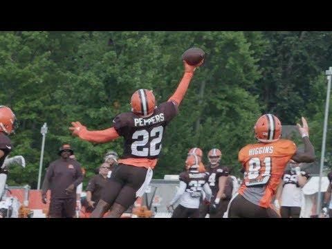Browns Huddle: Defense dominates at practice