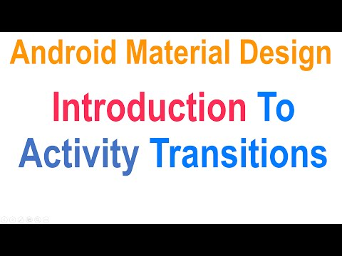 265 Android Activity Transition |
