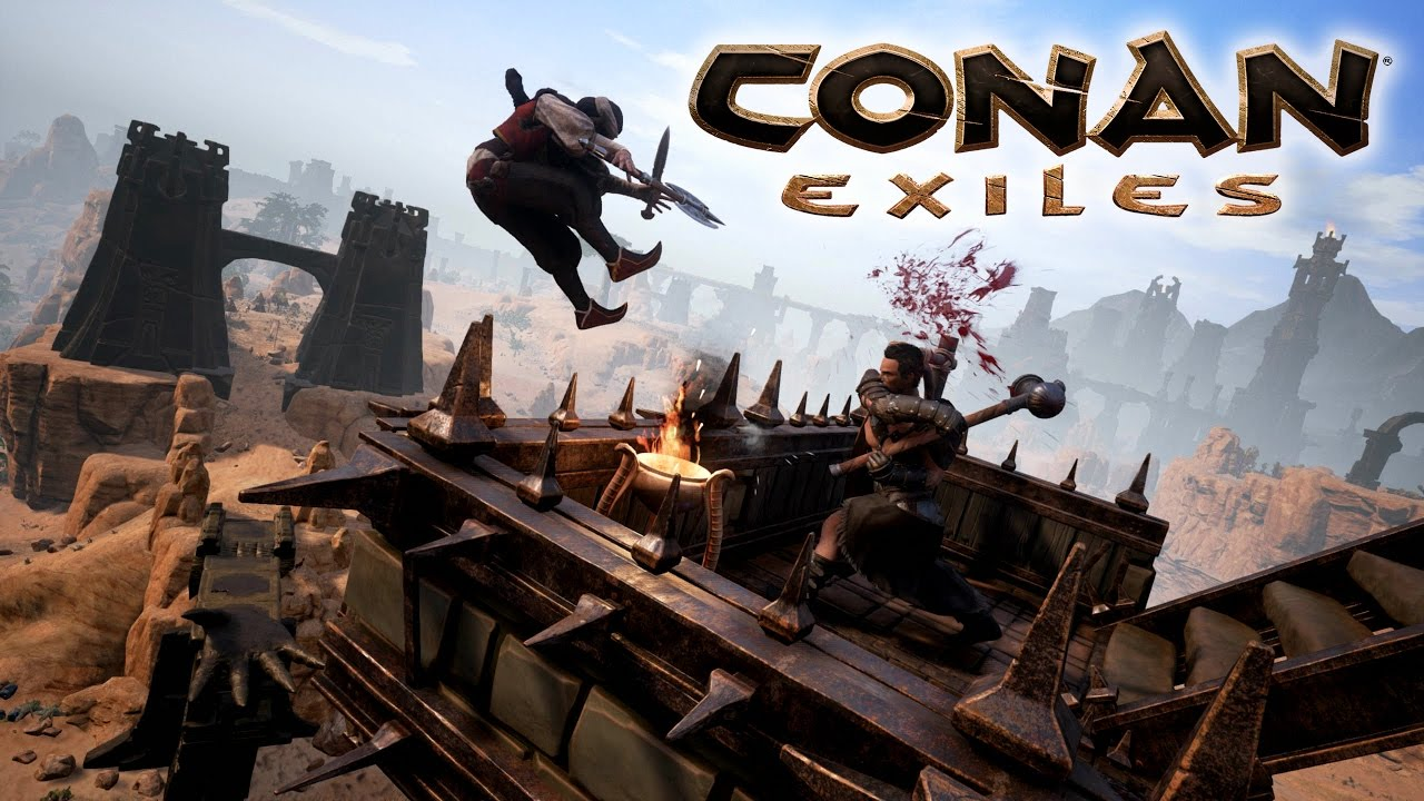 Conan Exiles Server Hosting by Blue Fang Solutions (monthly rental)
