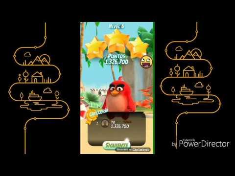 La Accion Comiensa Con Esta Serie - ANGRY BIRDS ACTION - Parte 1