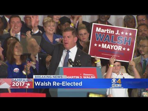 Marty Walsh Wins By 2-1 Margin In Boston