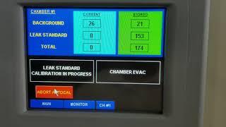 Scepter Leak Test - Auto Cal Routine