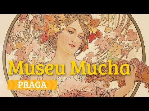 Parece Paris mas é Praga: art nouveau no Museu Mucha - Vontade de Viajar