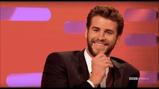 Liam Hemsworth Talks Working with Van Damme and Jennifer Lawrence - The Graham Norton Show