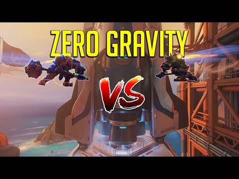 [Overwatch] Zero Gravity 1 Vs. 1