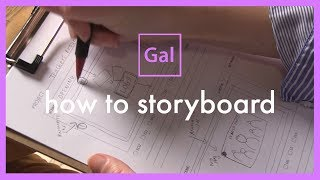 How to Storyboard / storyboarding for everybody! tutorial storyboard template