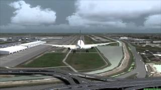 AIR FRANCE 777-200ER landing at Bangkok [FSX]