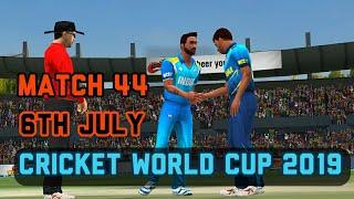 India vs Sri Lanka Live Prediction 6th July 44th ICC World cup match World championship Wcc2