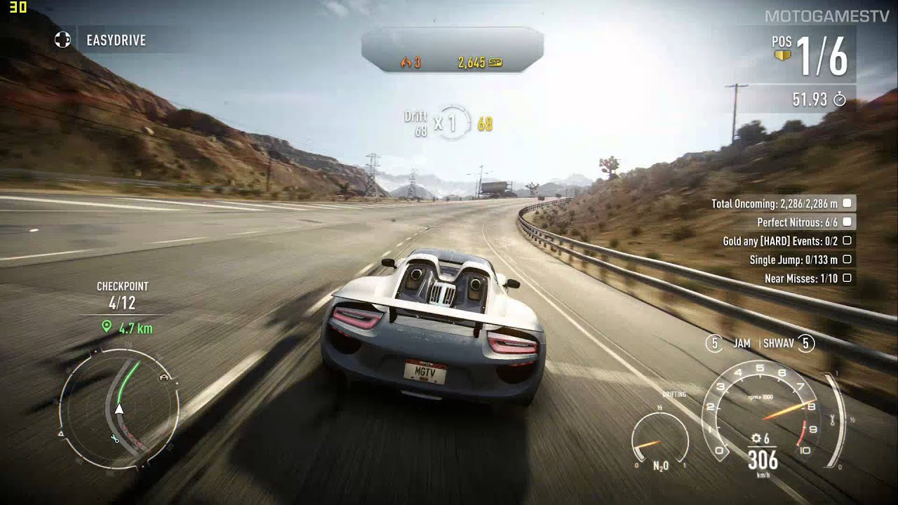 need for speed rivals pc porsche 918 spyder gameplay. Black Bedroom Furniture Sets. Home Design Ideas