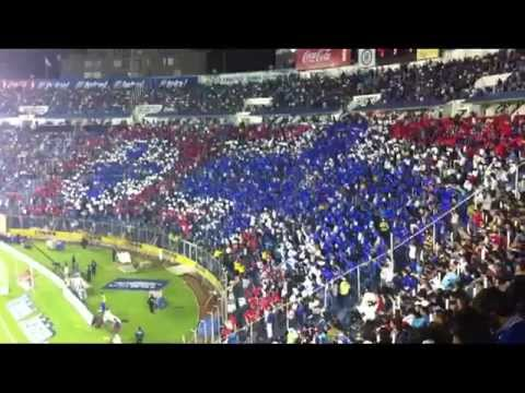 Gol de Chaco en el Estadio Azul - Cruz Azul vs Atlante