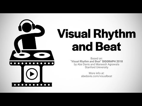 Visual Rhythm and Beat
