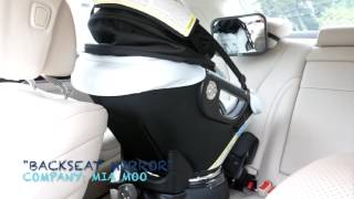 MIA MOO Backseat baby mirror review by @alleyesonjordyc!