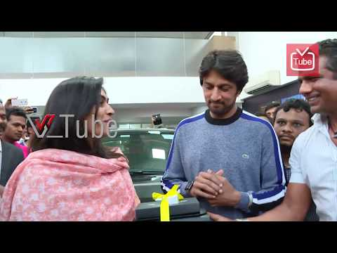Kiccha Sudeep Gift Brand New SUV To His Sister's Daughter Shreya