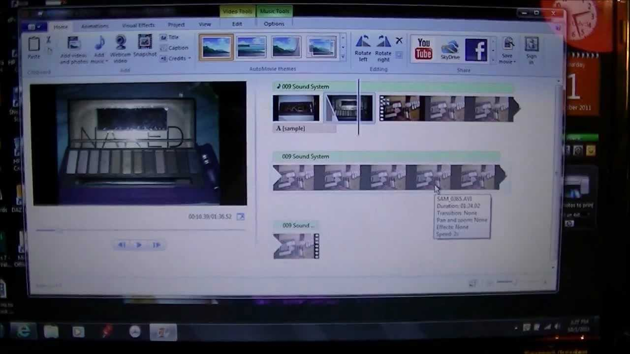 How To Edit Video's With Windows 7!! My Way