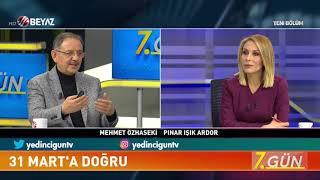 Mehmet Özhaseki'den yerel yönetimler açıklaması