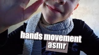ASMR 3Dio Binaural HANDS MOVEMENT Soft Spoken Tapping Whisper Sussurros To Relax