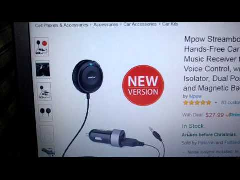 Mpow Streambot One Bluetooth 4 0