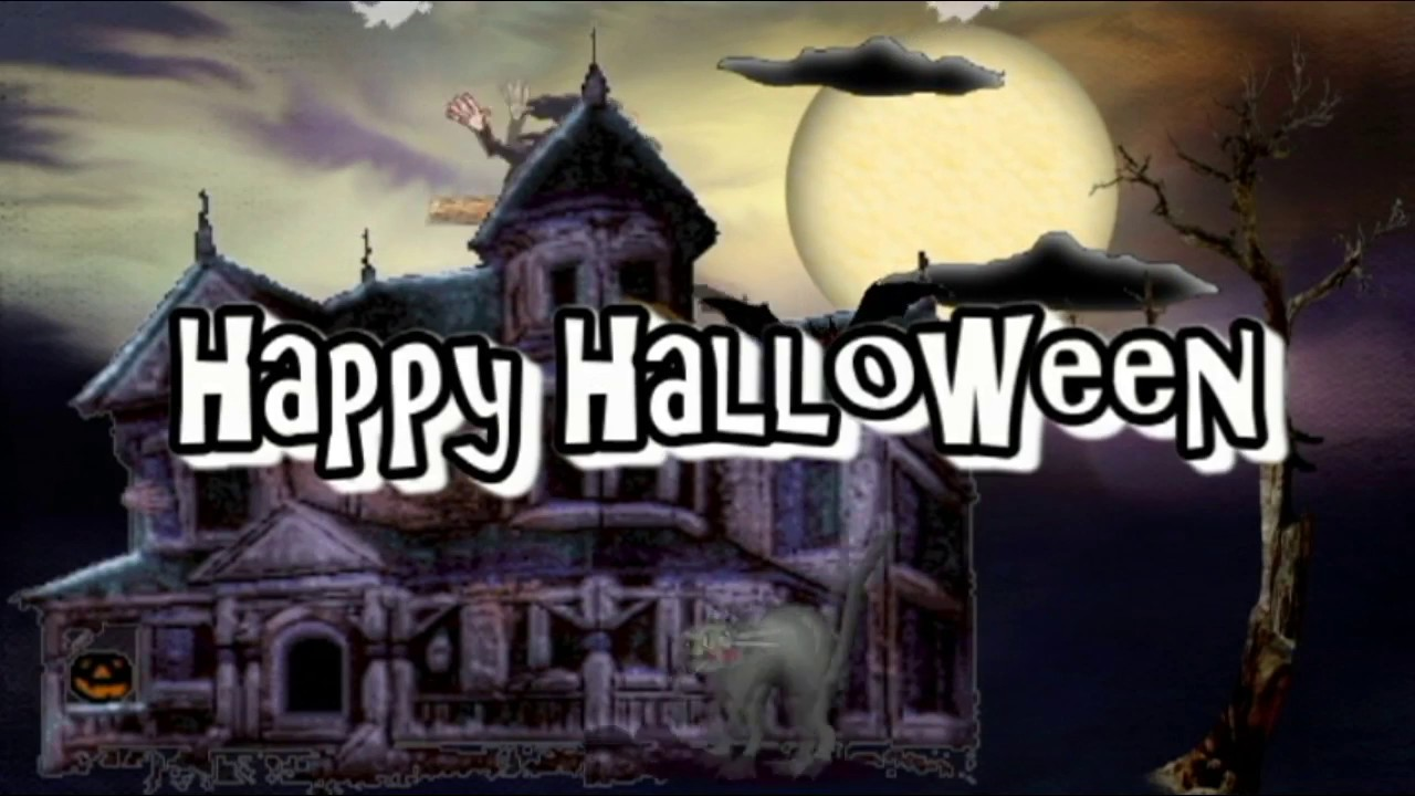 Happy Halloween Animated Wishes,Greetings,Sms,Sayings,Quotes,E Card,Wallpapers,Whatsapp  Video