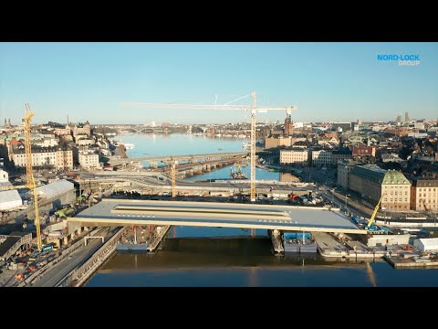 An Innovative Solution for a Special Bridge - The Stockholm Slussen Project