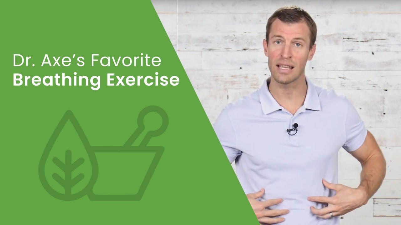 The Best Breathing Exercise to Decrease Stress & Improve Sleep | Dr. Josh Axe