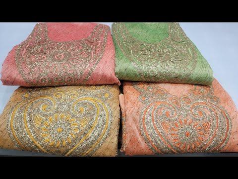 সফট কটনের সুতা কাজের ড্রেস কালেকশন //boutiques dress collection