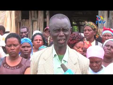 Squatters who were eveicted from Mt. Kenya cry for justice
