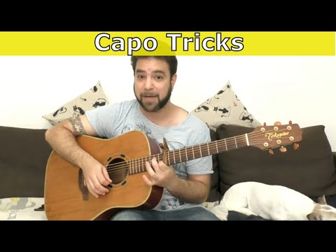 5 Awesome Capo Tricks to Refresh Your Playing - Guitar Lesson Tutorial