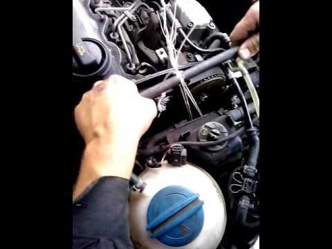 замена ремня ГРМ на авто skoda octavia tour двигатель 1.9 tdi
