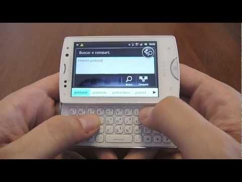 Revisión Sony Ericsson Xperia mini pro