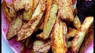 Odchudzone przepisy: Dietetyczne, beztłuszczowe, pyszne frytki