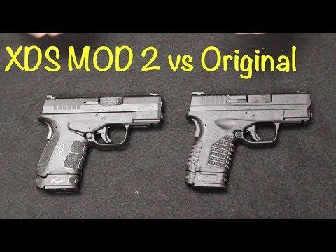 Springfield XDS Mod 2 vs Original XDS
