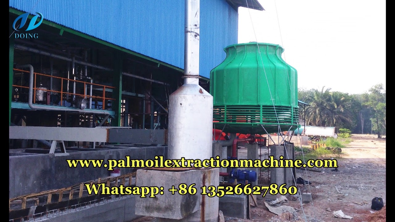 5tpd palm oil refining machine successfully installed in Indonesia, cooking  oil refining machine