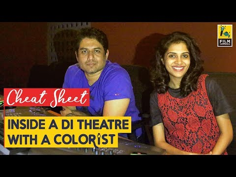 Inside A DI Theatre With A Colorist | Cheat Sheet | Padmavati