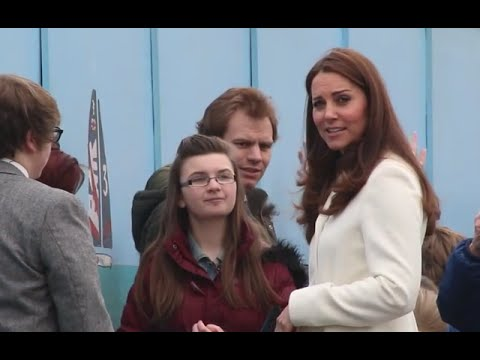 Duchess of Cambridge visits 1851 Trust and Ben Ainslie Racing in Portsmouth