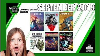 Xbox Game Pass SEPTEMBER 2019 | What's Coming and Going | Xbox One & PC