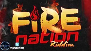 Fire Nation Riddim - Instrumental (Jay Crazie Records) 2015